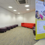 College Reception Seating Area