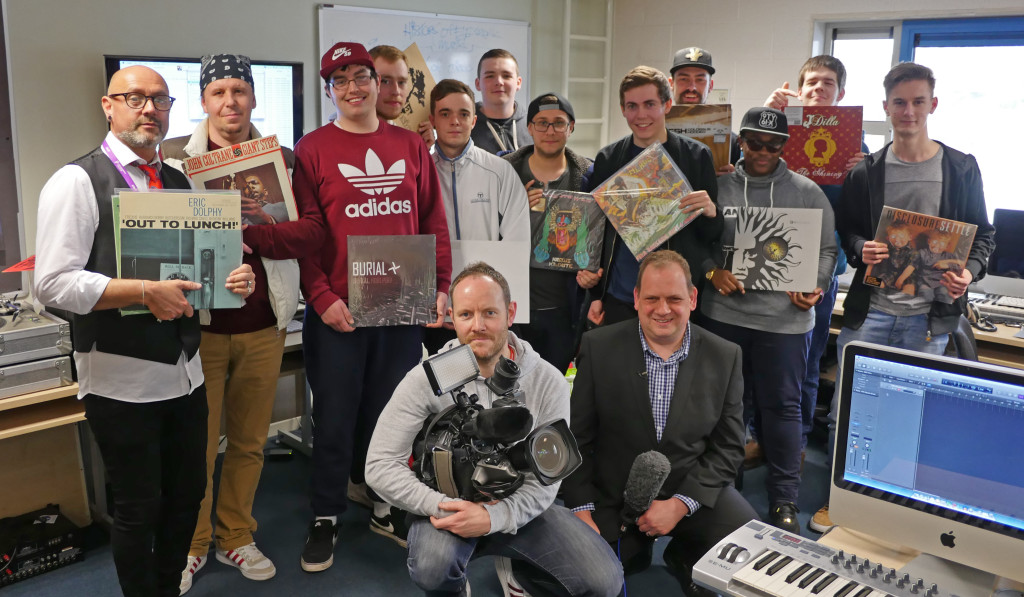 Bbc Midlands Today S Vinyl Revival Kidderminster College