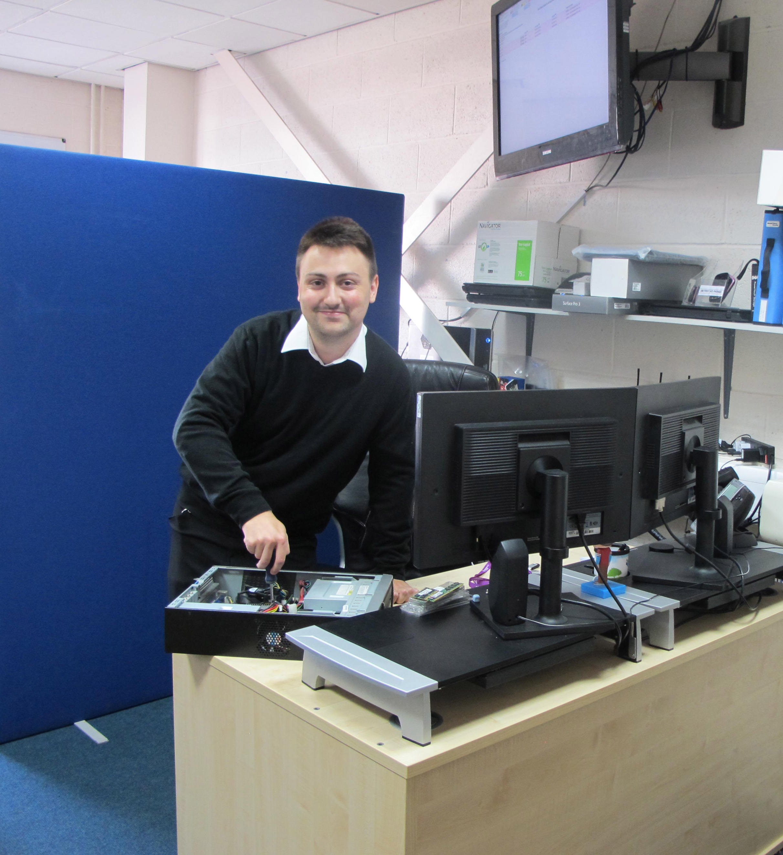Apprentice Justin Wheeler