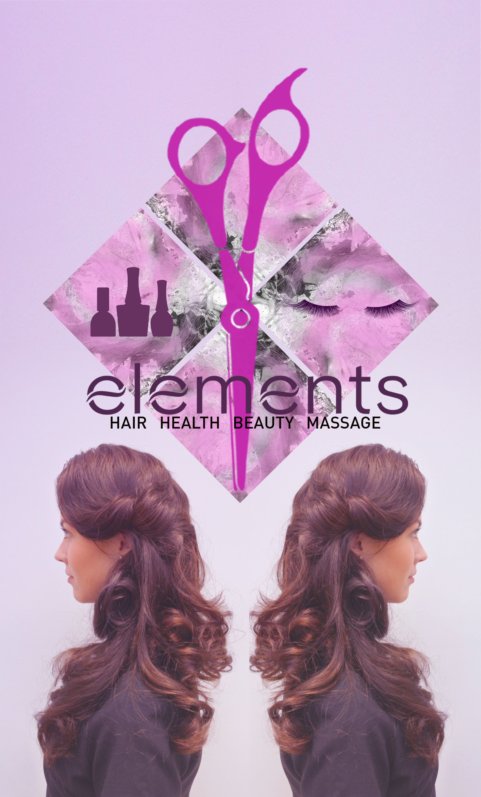 Elements Salon Banner