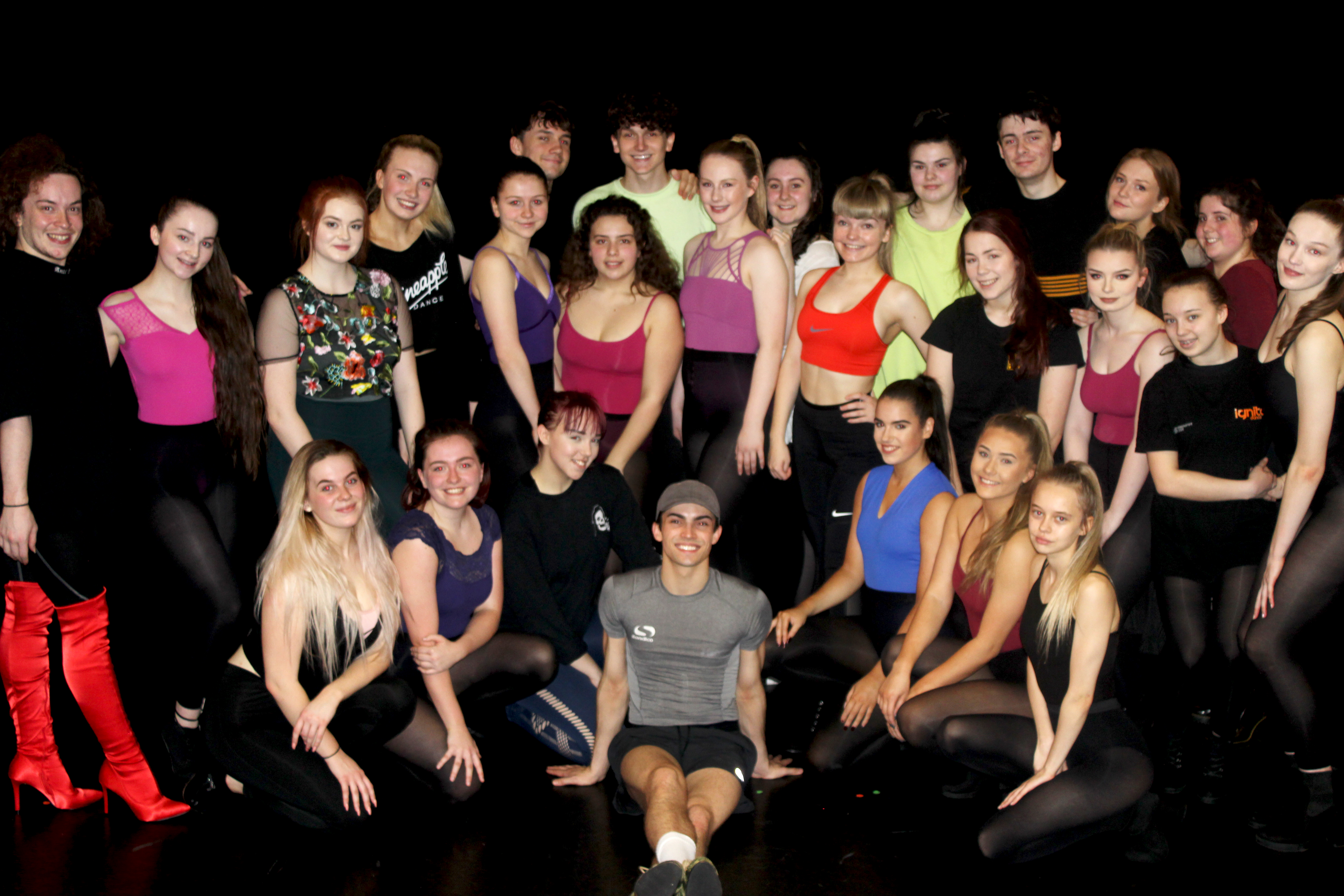 Kinky Boots KC Learner Group Shot